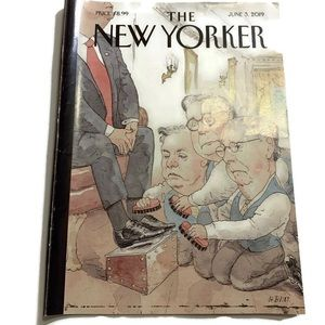 THE NEW YORKER June 3 '19 Cover Art by Barry Blitt